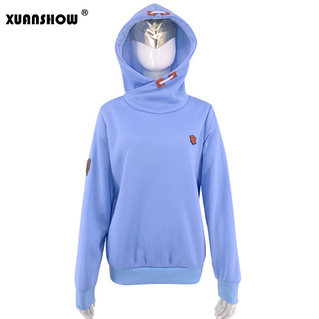 Women's Fleece Hoodies, Ladies Sweatshirts, Casual Solid Long Sleeve 1