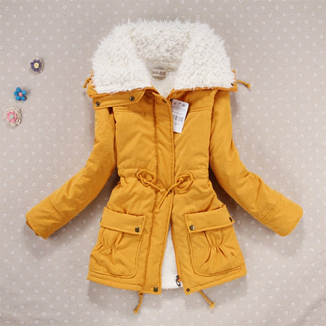 Winter Coat, Women's Medium-Long. Hooded Snow Parka 2