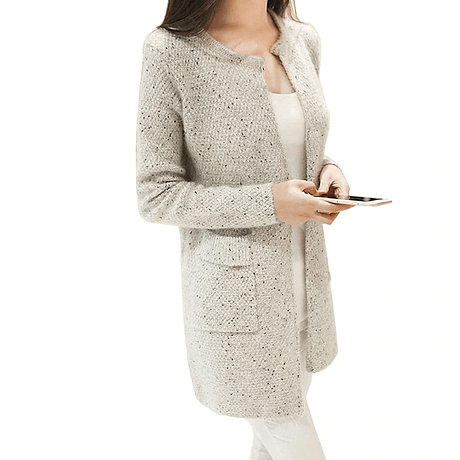 OLGOTUM 2019 New Spring&Autumn Women Casual Long Sleeve Knitted Cardigans Autumn Crochet Ladies Sweaters Fashion Women Cardigan 1