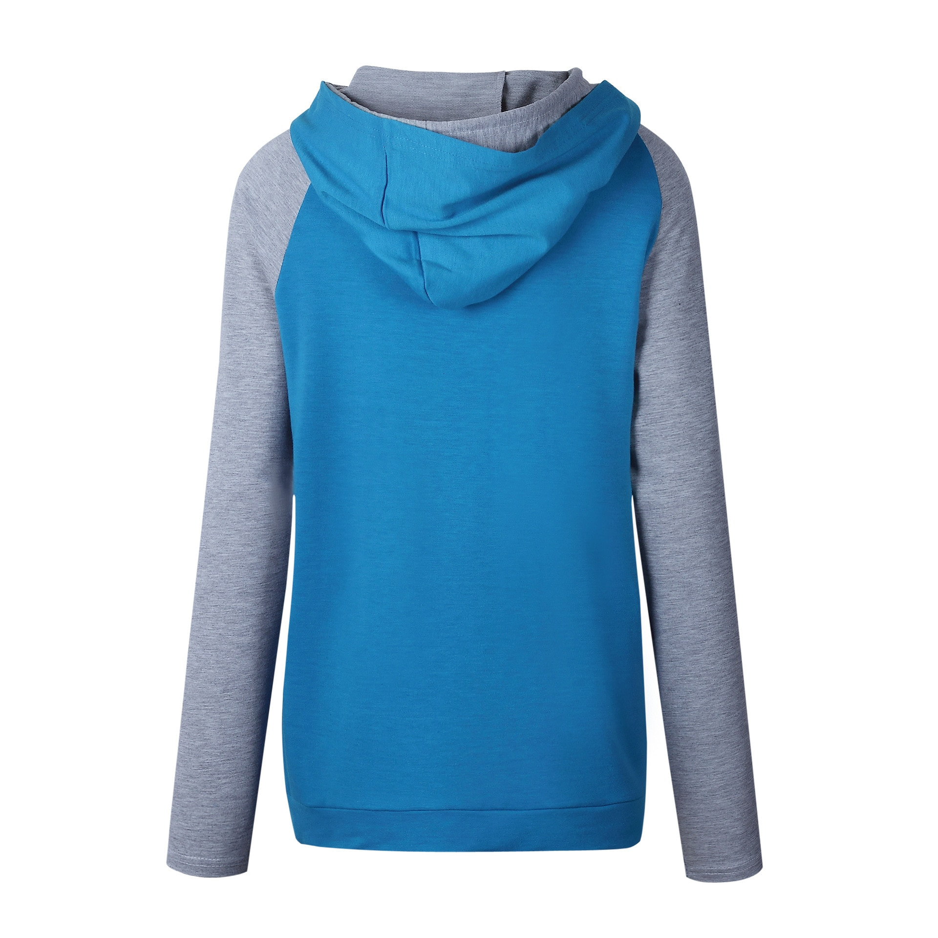 Women's Patchwork Striped Pullover Long Sleeve Hoodie, Tops With Pockets, Hooded Sweatshirt 29