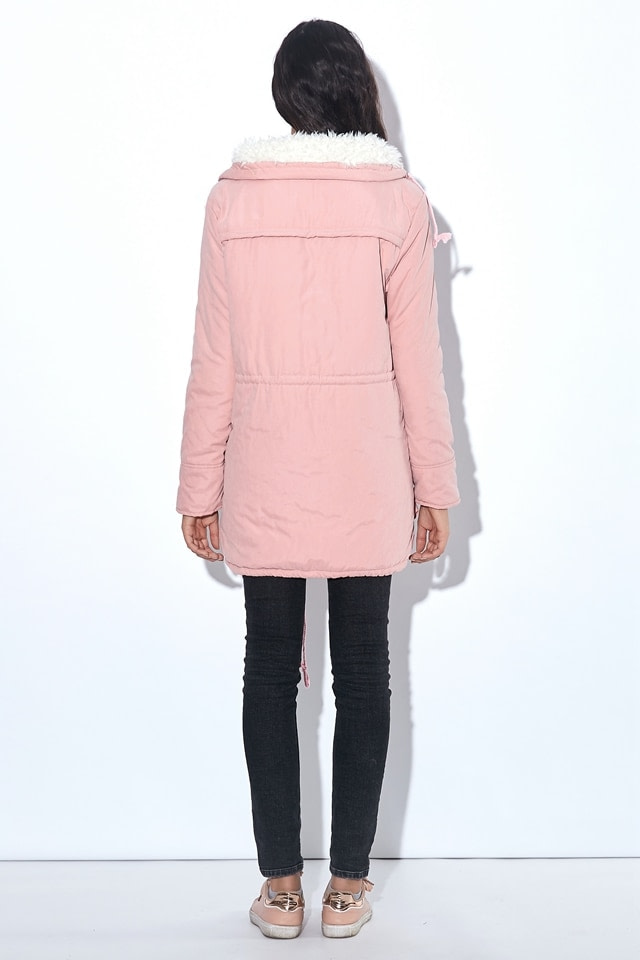 Winter Coat, Women's Medium-Long. Hooded Snow Parka 17