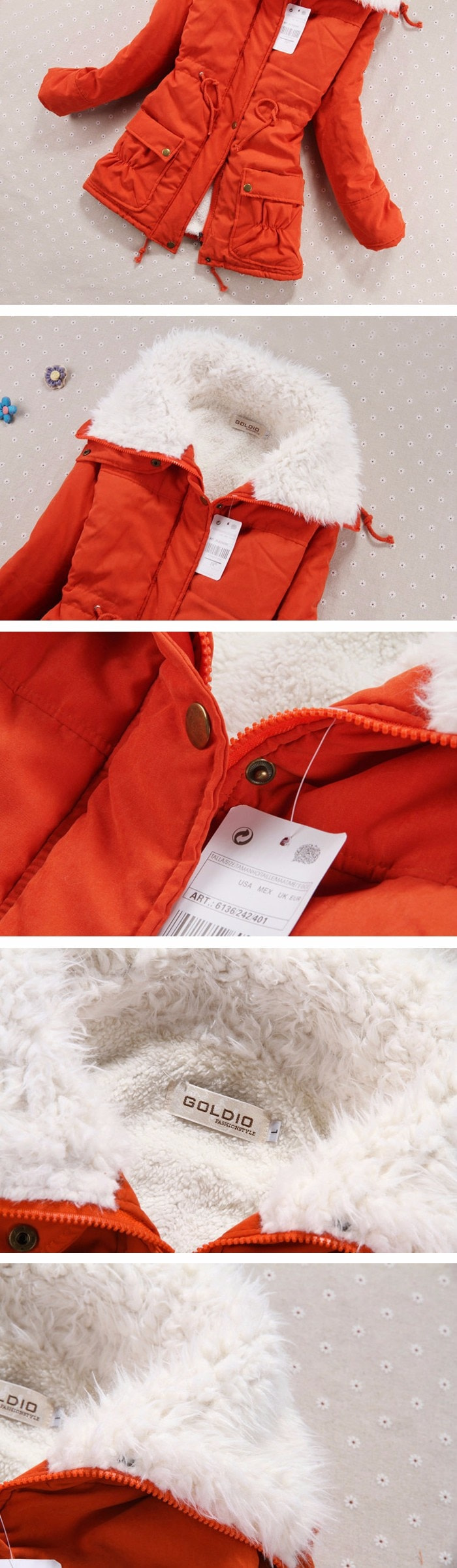 Winter Coat, Women's Medium-Long. Hooded Snow Parka 23