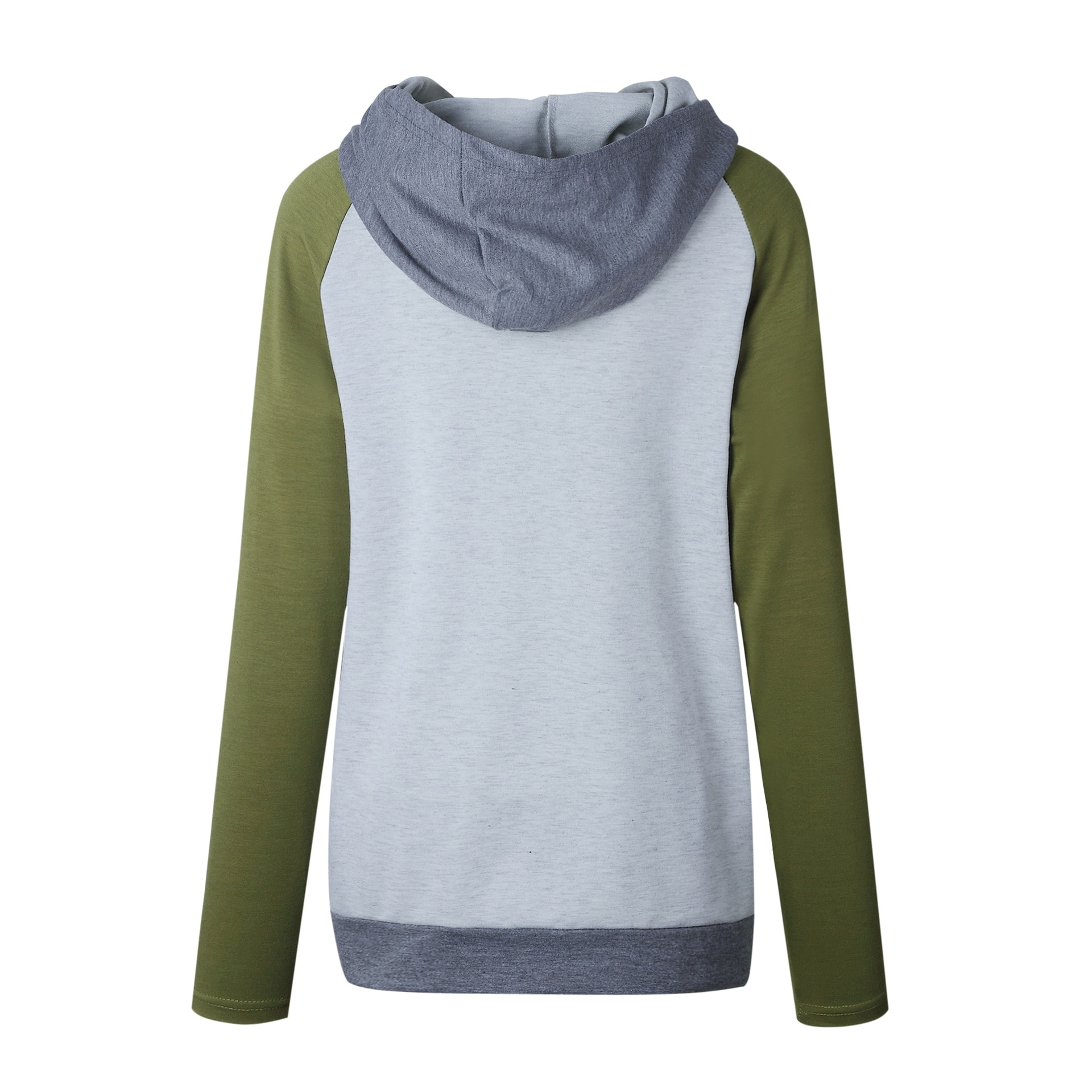 Women's Patchwork Striped Pullover Long Sleeve Hoodie, Tops With Pockets, Hooded Sweatshirt 54