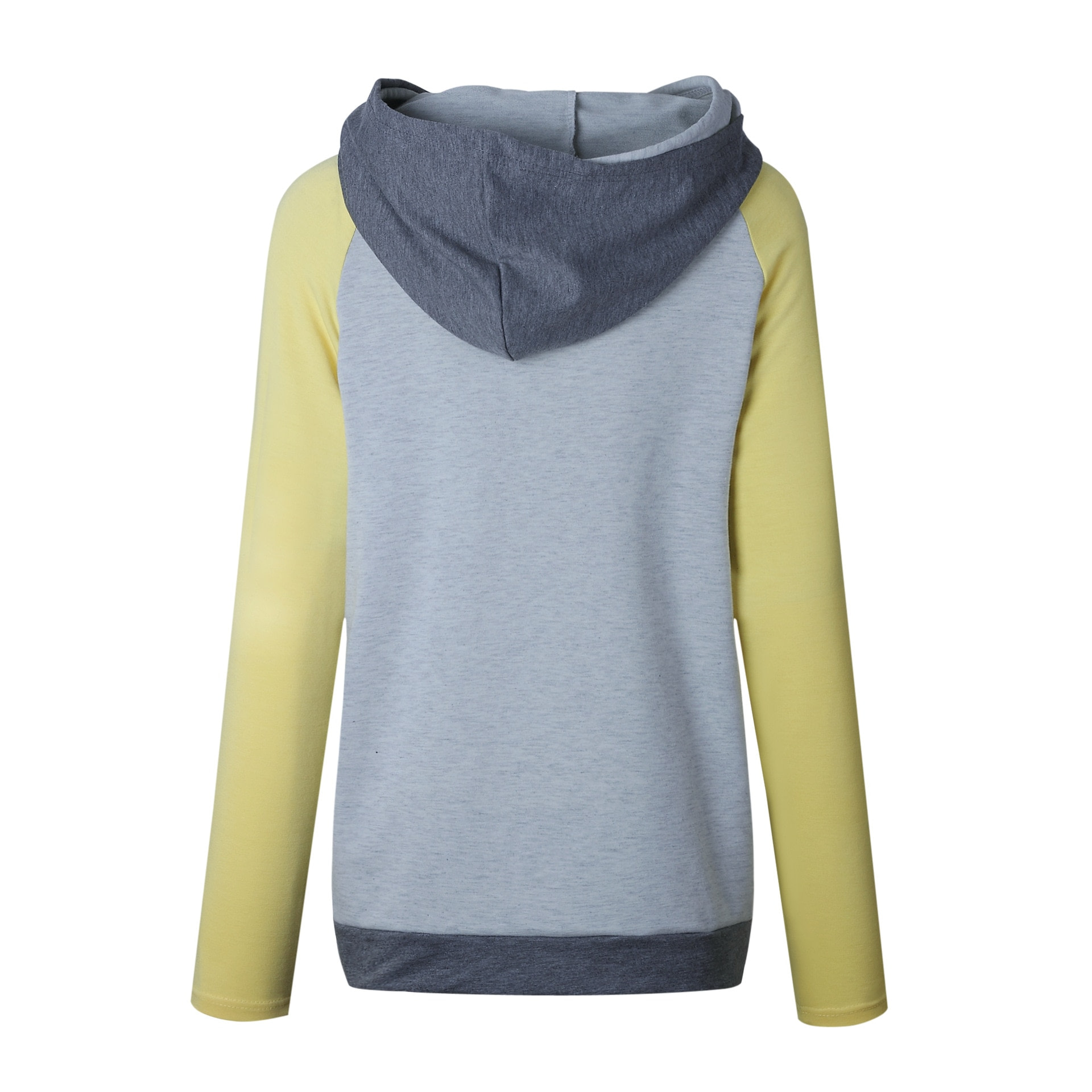 Women's Patchwork Striped Pullover Long Sleeve Hoodie, Tops With Pockets, Hooded Sweatshirt 51