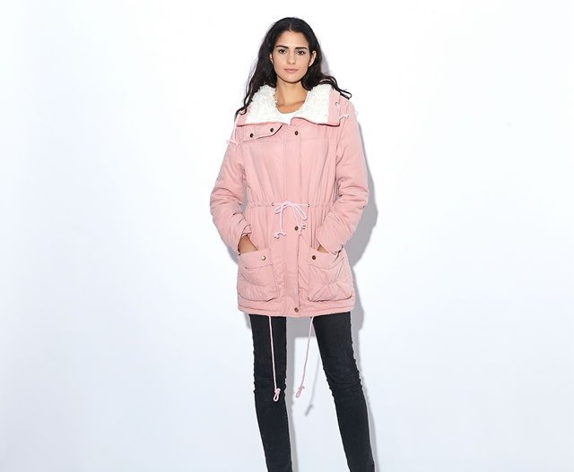 Winter Coat, Women's Medium-Long. Hooded Snow Parka 20